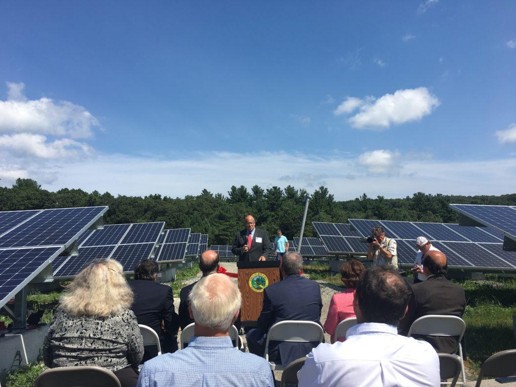 Boxford S New Solar Field Representative Lenny Mirra